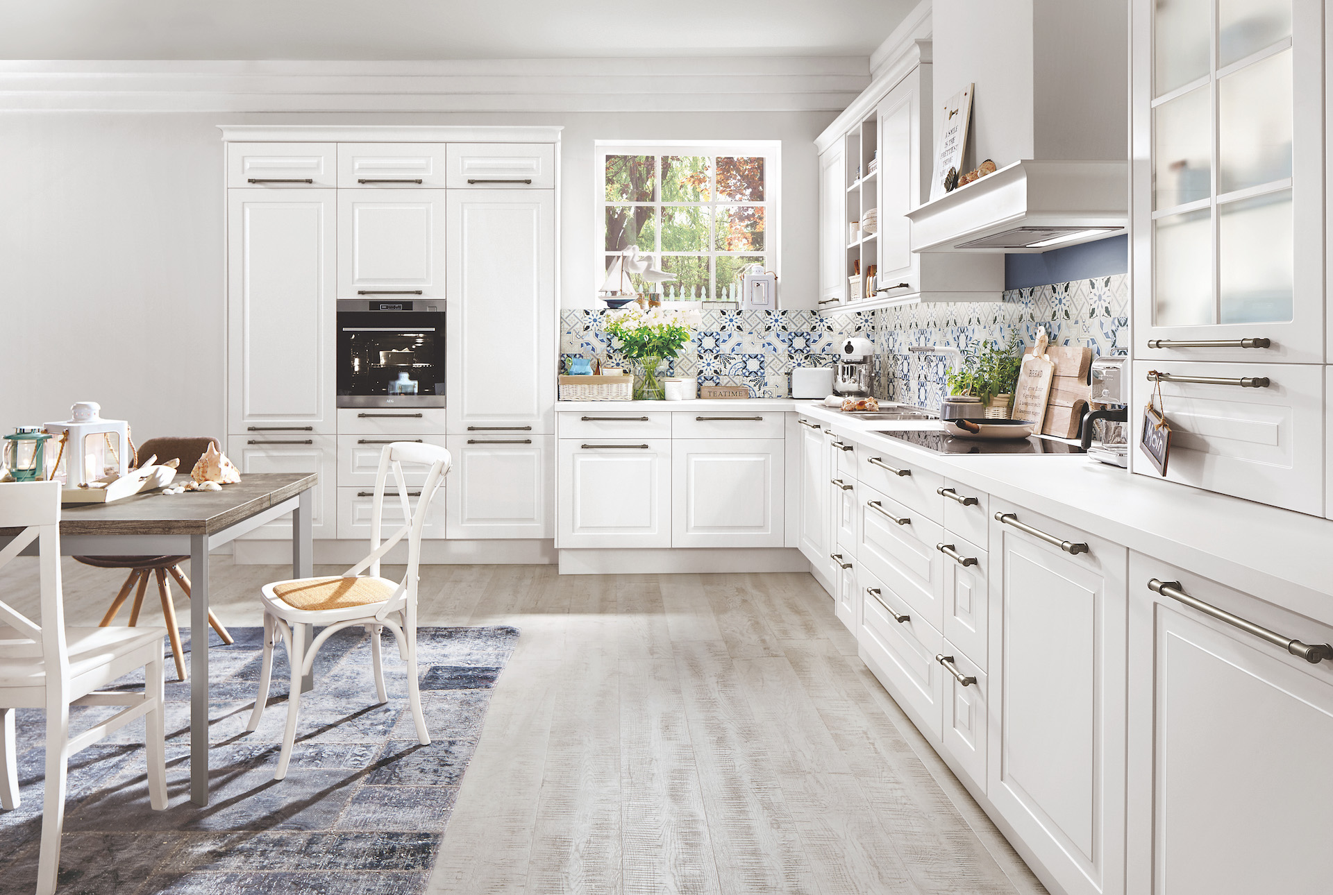 Interior design : Kitchen in Classic style with a modern look