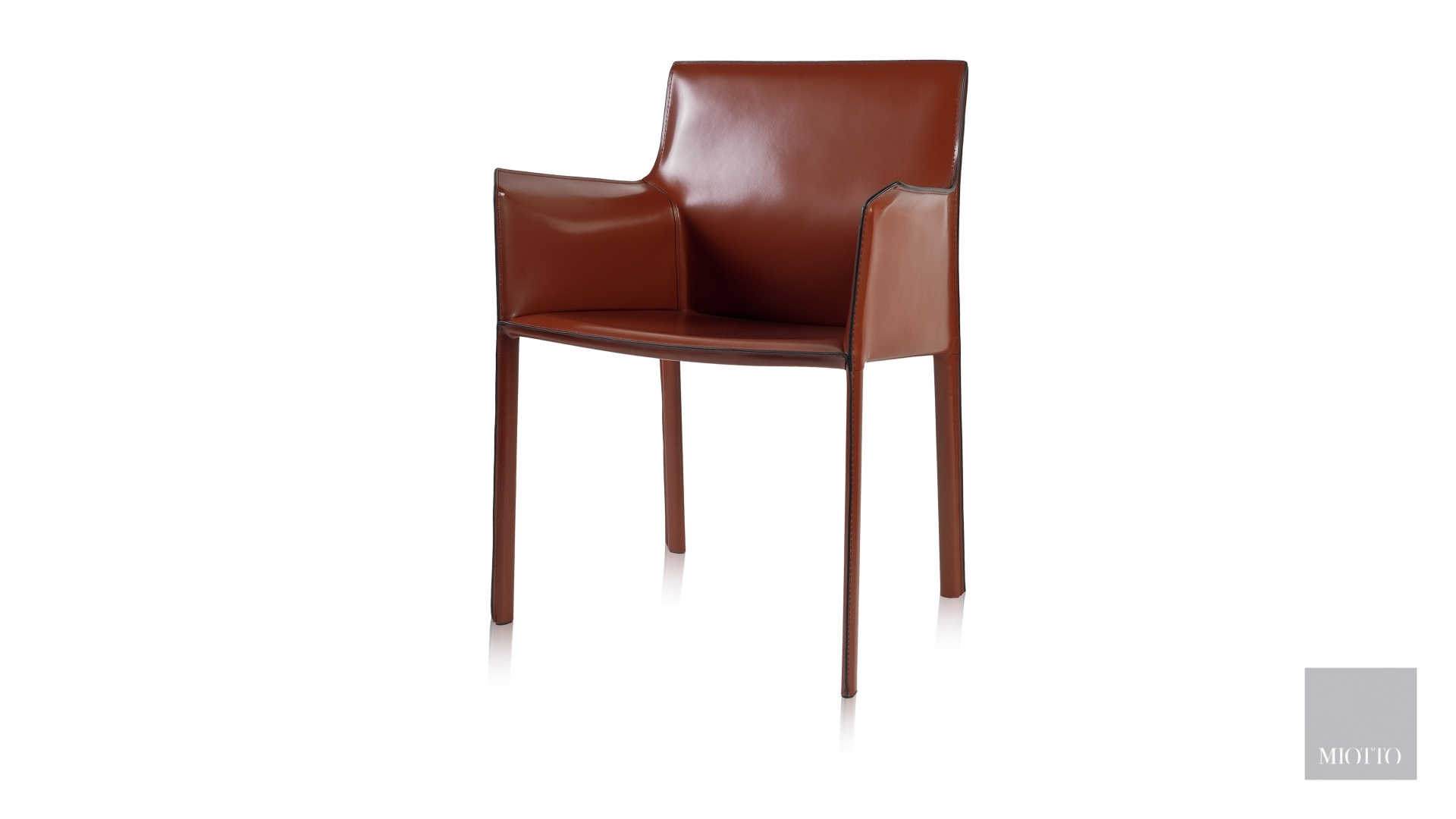 miotto_Ardini arm dining chair burgundy miotto furniture t