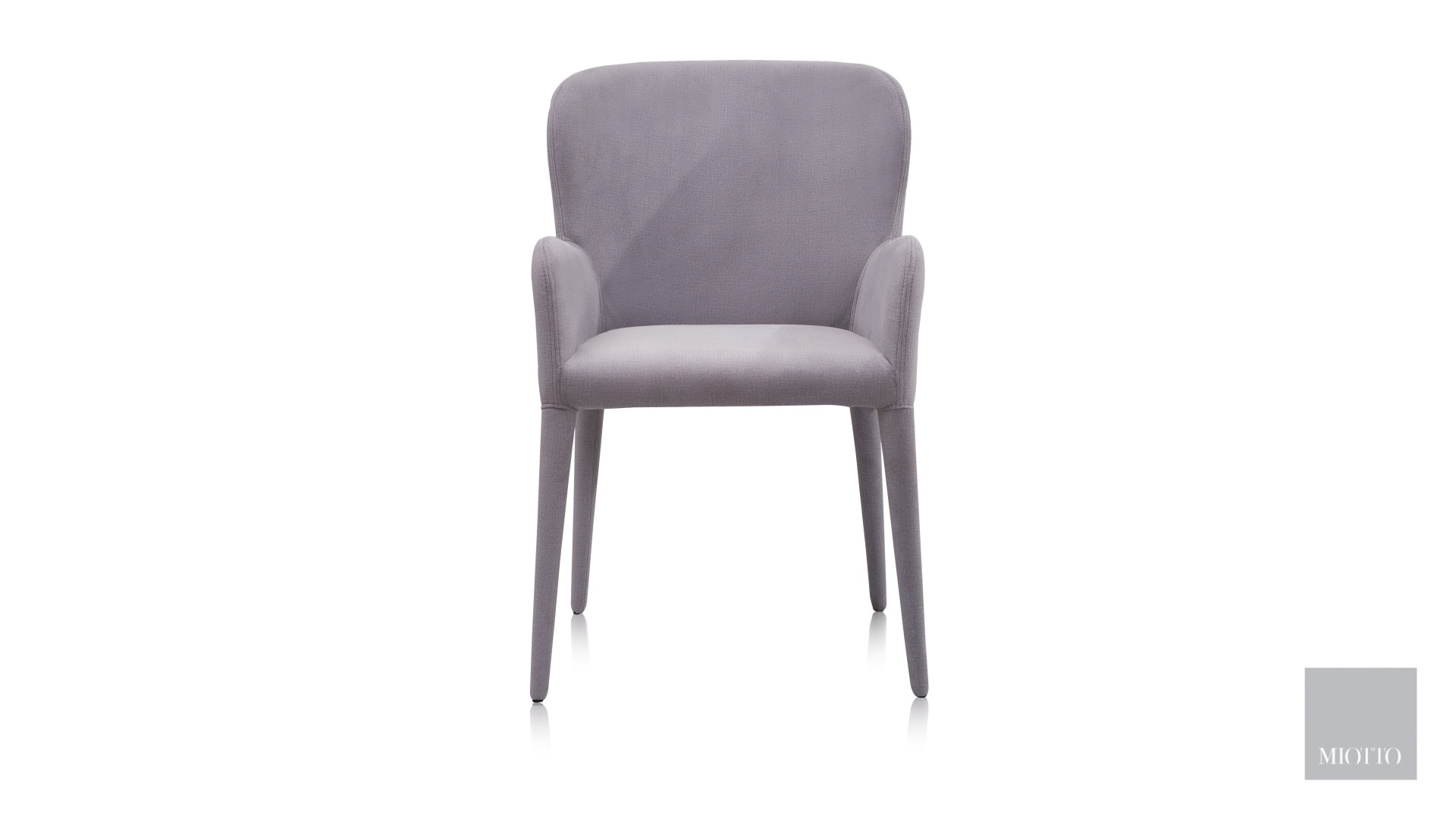 miotto_Aviano dining armchair grey front miotto furniture