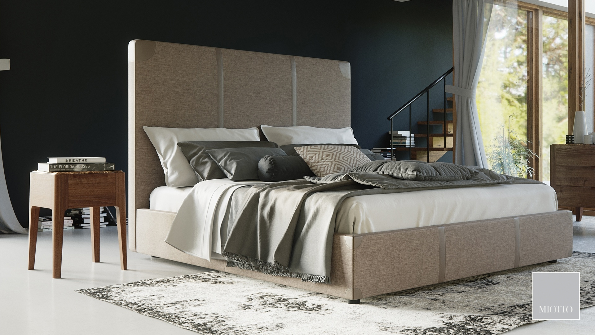miotto_marano bedside, bolgheri bed