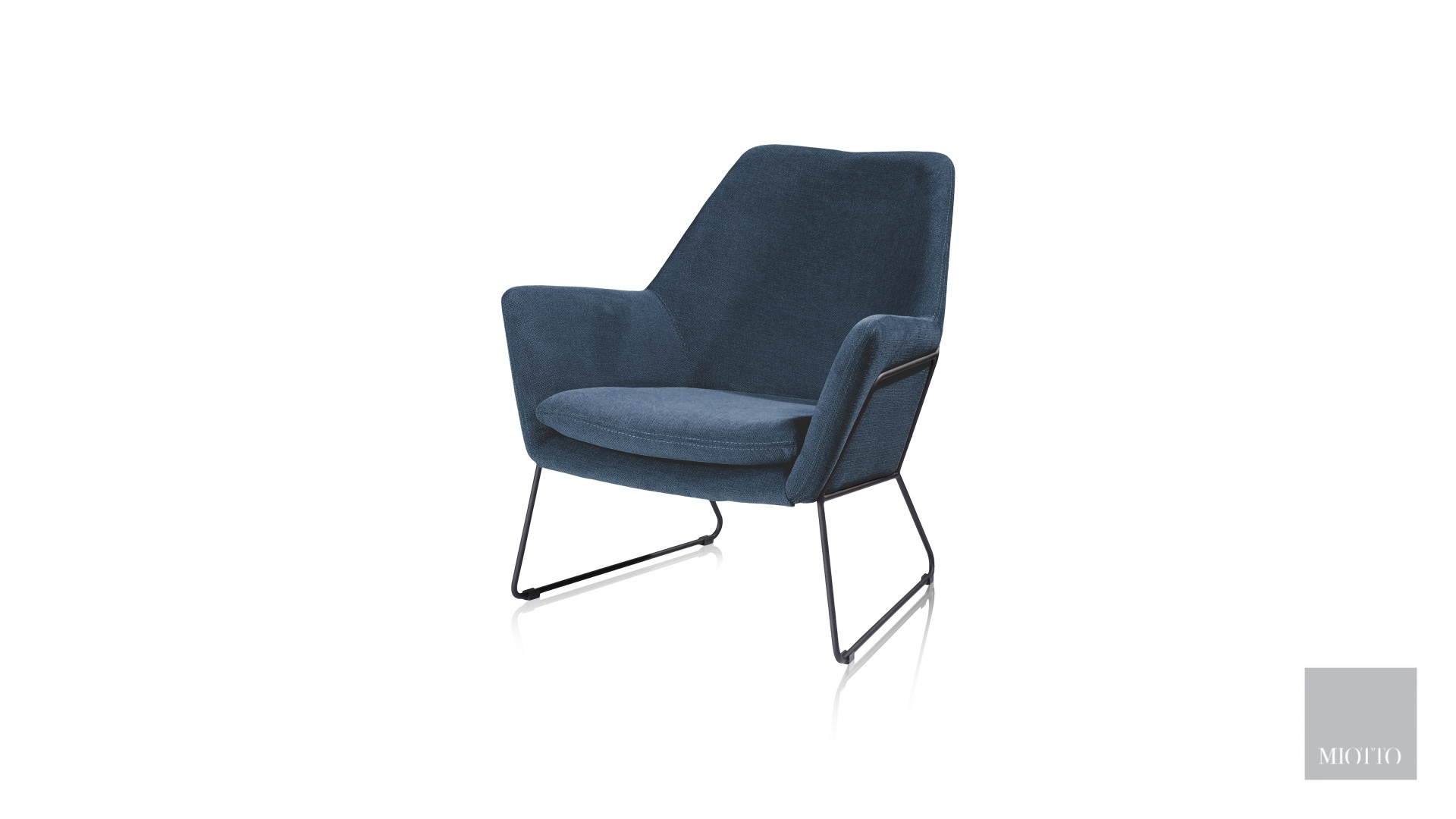 miotto_Duomo leisure chair blue