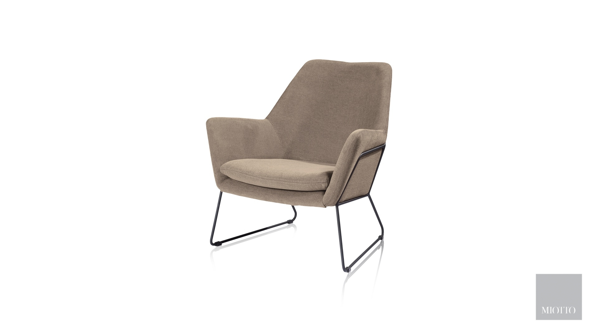 miotto_Duomo leisure chair taupe