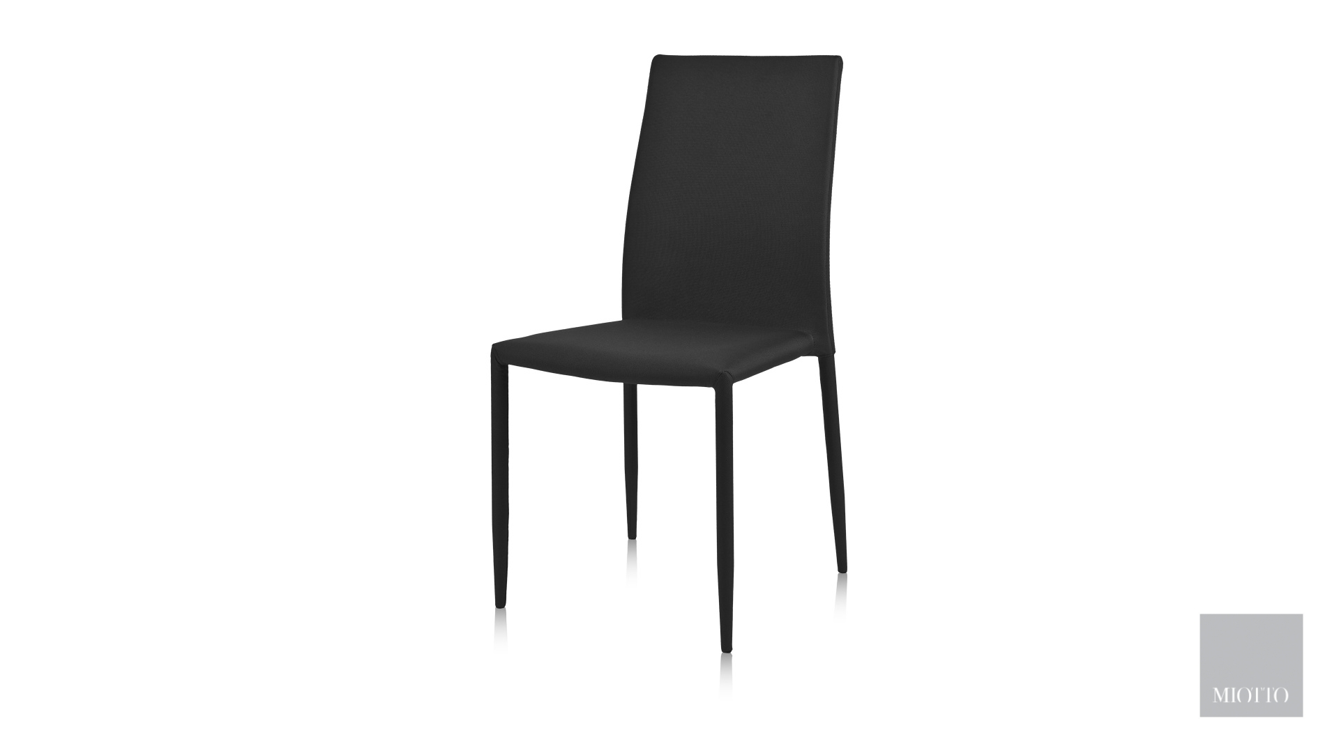 miotto_Lara fabric dining chair black miotto furniture