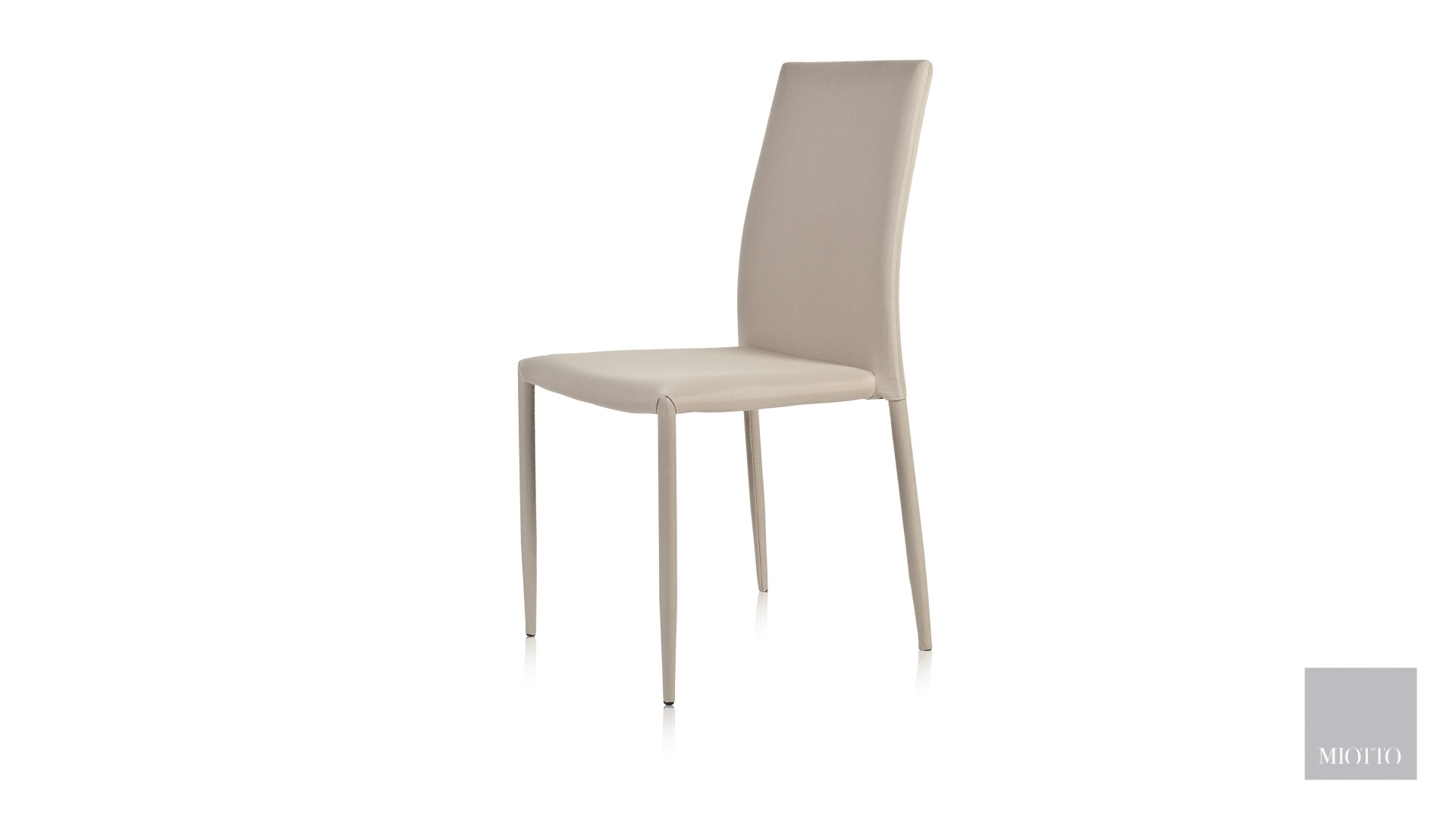 miotto_Lara fabric dining chair cream front miotto furniture