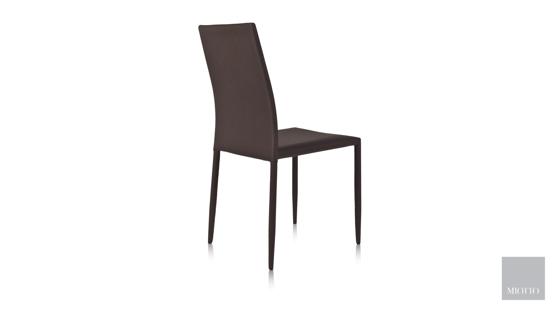 miotto_Lara fabric dining chair grey brown back miotto furniture