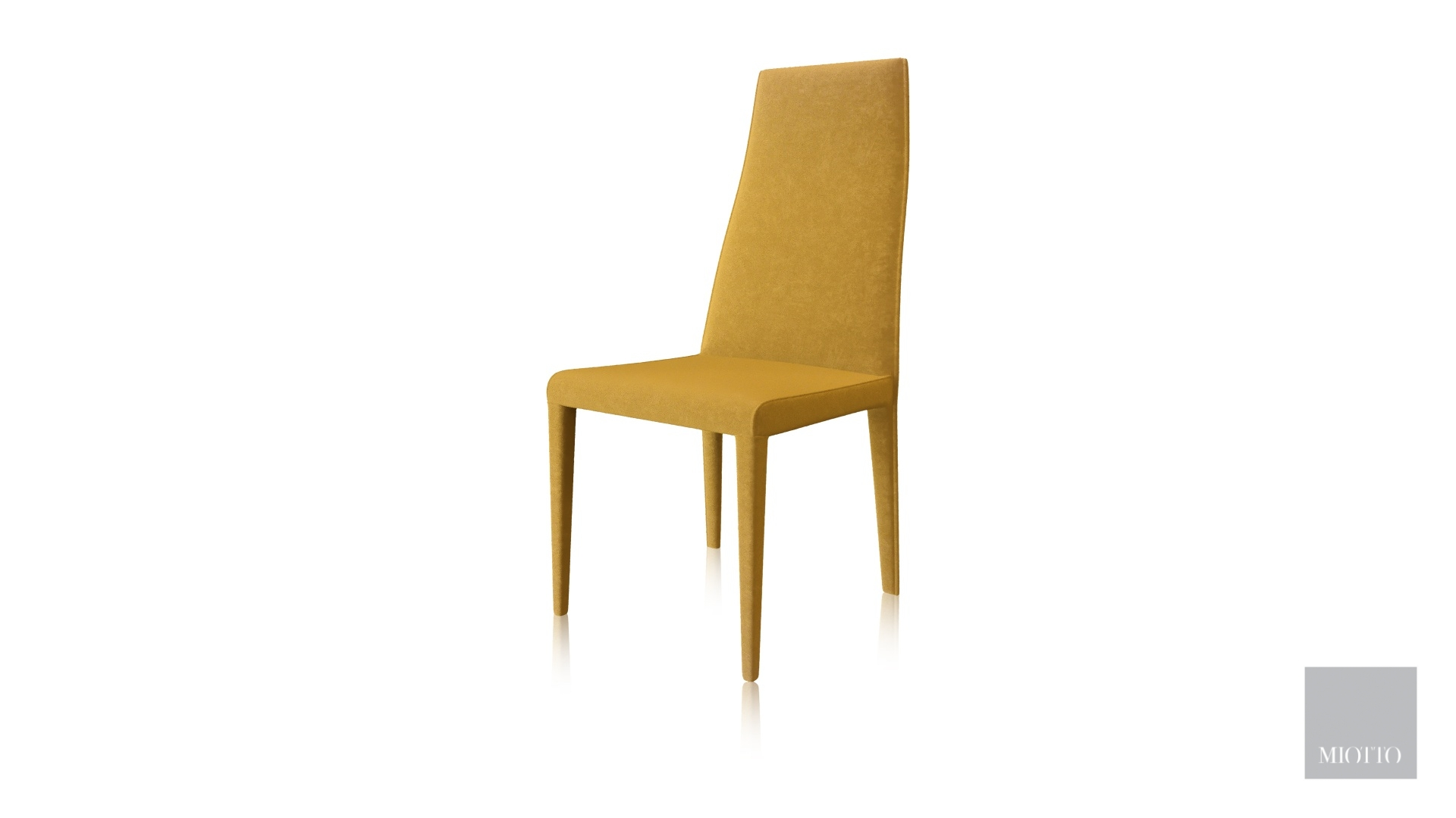 miotto_Rigano dining chair yellow miotto furniture