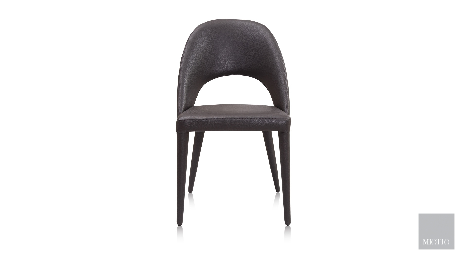 miotto_Salgari dining chair brown front miotto furniture